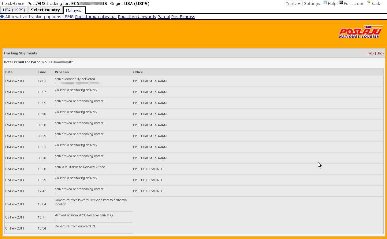 Ips Web Tracking Ems Package Adothbegtersga